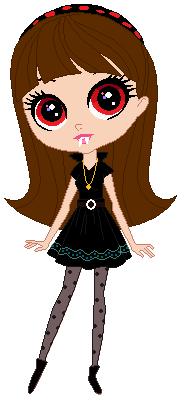 Vampire Blythe Baxter by CartoonFreak666