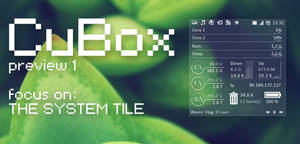 CuBox for Rainmeter - Preview 1