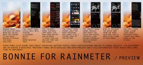 Bonnie for Rainmeter - Preview by Dariosuper
