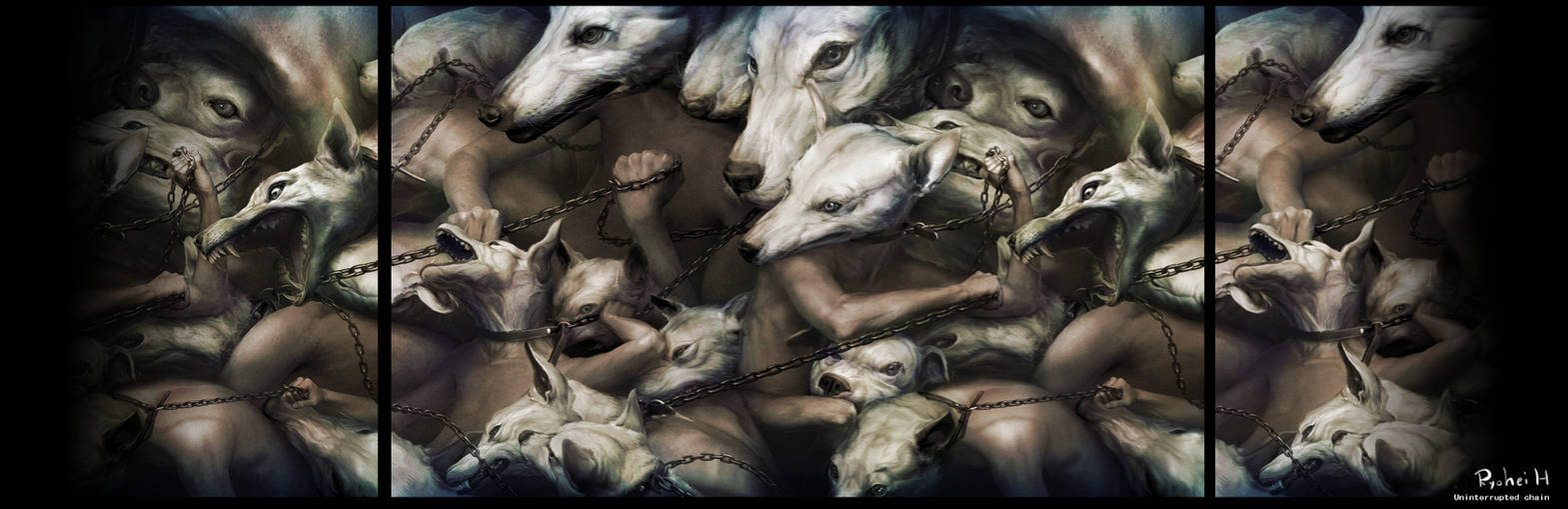 Uninterrupted chain by Ryohei-Hase