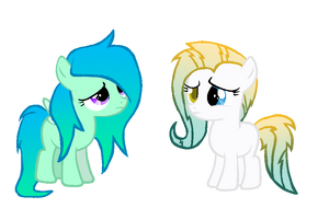 Trading Manes -Puddleheart and Jitterbug- by Skittles91k