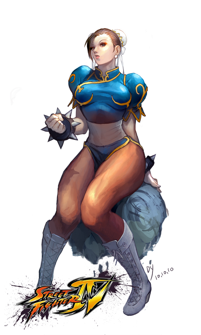 Chun-Li from Street fighters by hdy9108