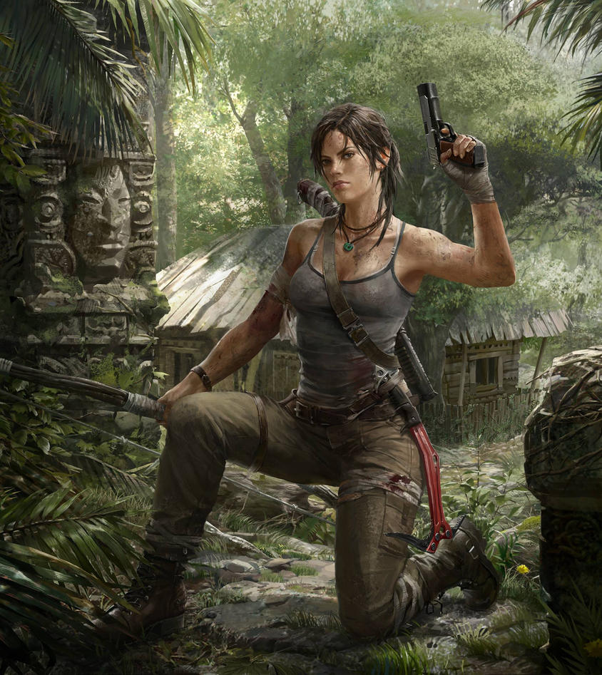 Tomb Raider 2013 Wallpaper: Lara In The Forest By Hdy9108 On DeviantArt