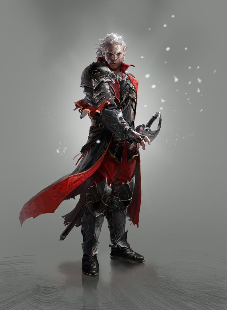 demonic swordmaster by hdy9108