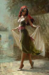 Fatima from the alchemist