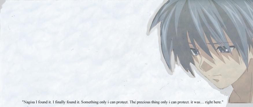 Clannad After Story Tomoya Okazaki Quote By Shironomisheru On
