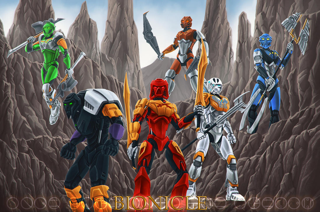 Once more unto the breach (Bionicle 2015 take 2) - General