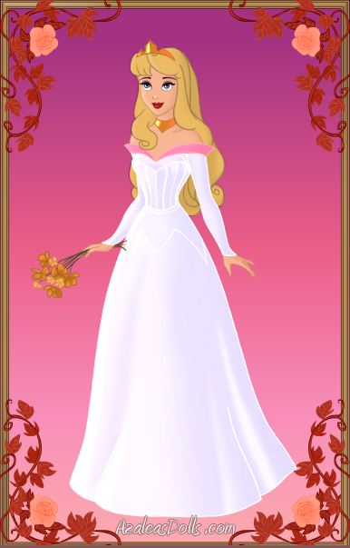 Princess Auroras Wedding Dress By Unicornsmile