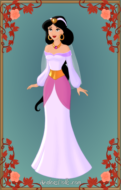 Princess Jasmine\'s wedding dress by unicornsmile on DeviantArt