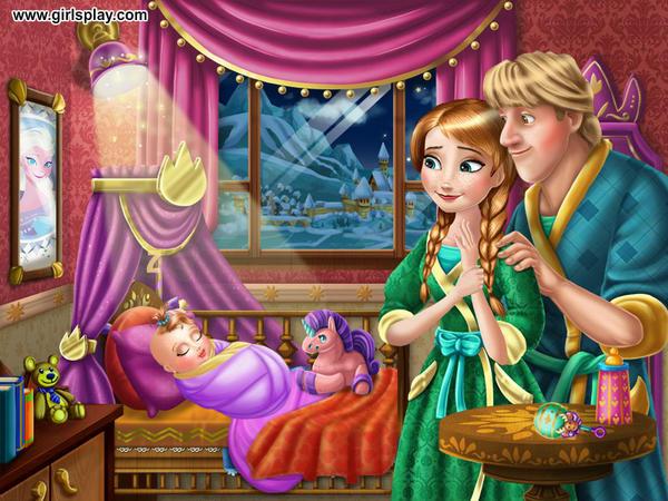 Anna and kristoff's baby by unicornsmile on DeviantArt