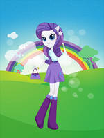 Equestria girls rarity by unicornsmile