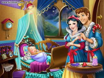 Snow white's baby by unicornsmile