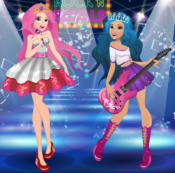 Barbie Rock N Royals Wallpaper: Barbie In Rock N Royals By Unicornsmile On DeviantArt