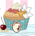 Princess Jasmine cupcake