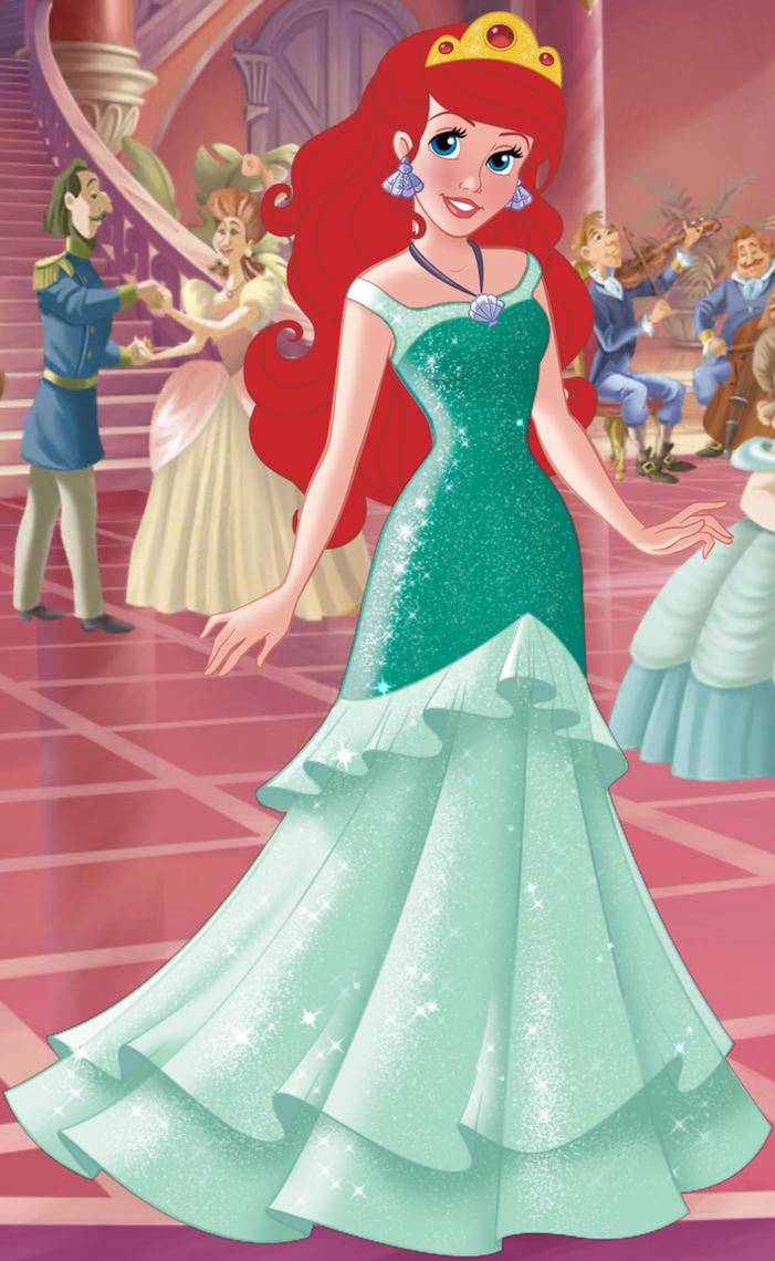 Ariel\'s Ballgown by unicornsmile on DeviantArt
