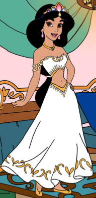 Princess Jasmine\'s wedding dress restyle by unicornsmile on DeviantArt