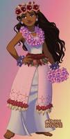 Moana's Wedding Dress