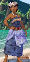 Polynesian Princess Tiana
