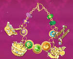 The Princess and The Frog Charm Bracelet