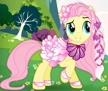 Fluterrshy's Dress by unicornsmile