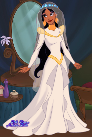 Jasmine\'s Wedding Dress by unicornsmile on DeviantArt
