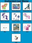 My Little Enchanted Cast by unicornsmile