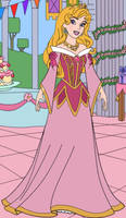 Auroras Birthday Dress 4