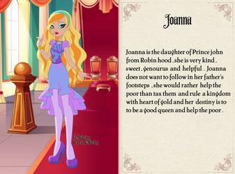 Joanna by unicornsmile