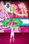 Ballerina barbie girl
