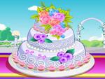 Thunderlane and Cloudchasers wedding cake