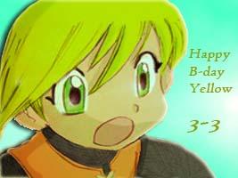 Happy Birthday Yellow! OwO/ by Semitura