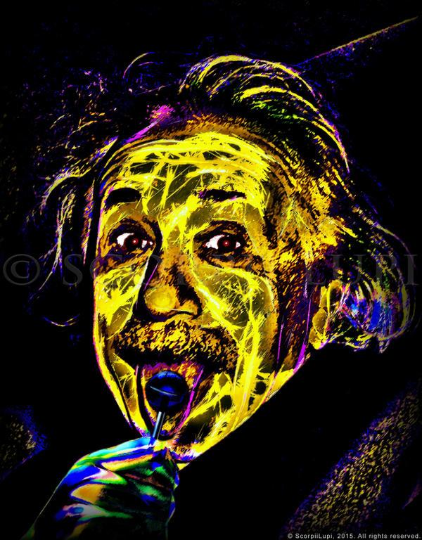 Einstein by ScorpiiLupi