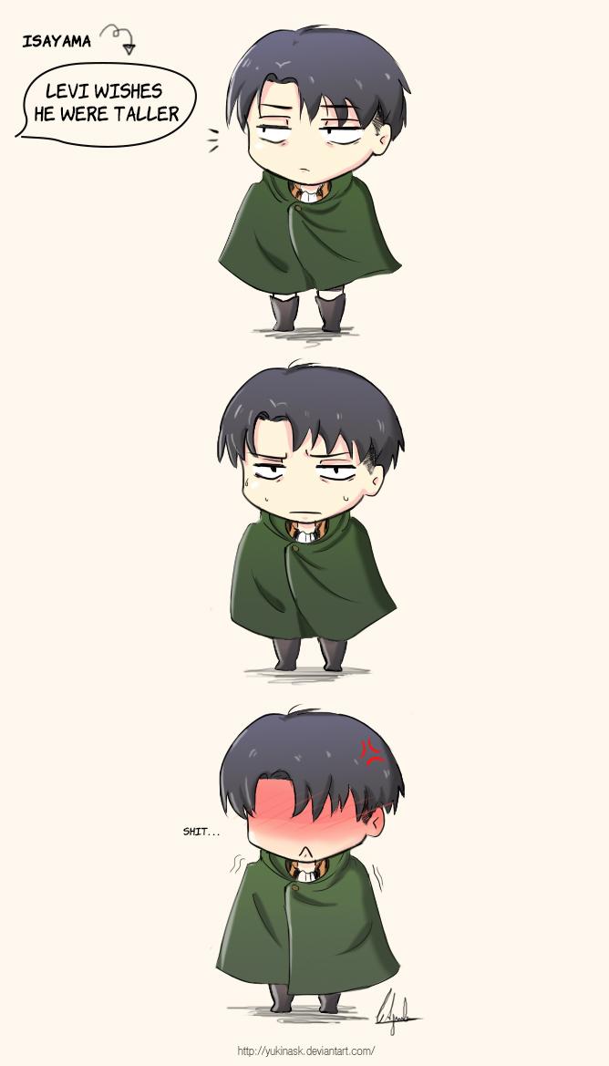 Aw Levi :3 by YukinaSk