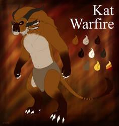 Kat Warfire - Character Sheet