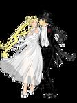 Usagi Rogers and Mamoru Astaire