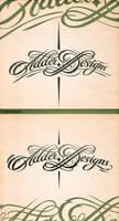 Adder Designs Typography by r77adder