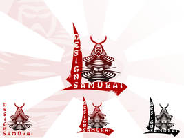 Samurai Design Logo by r77adder