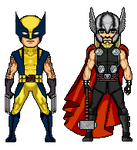Marvel Now - Wolverine and Thor