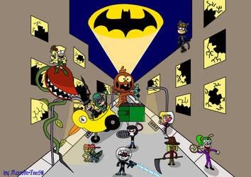 Batman Day: The Loud Arkham by MonsterFan50