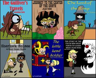 World Book Day: Loud Books 2 by MonsterFan50