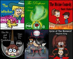 Dark Books Collection (TLH) 5 by MonsterFan50
