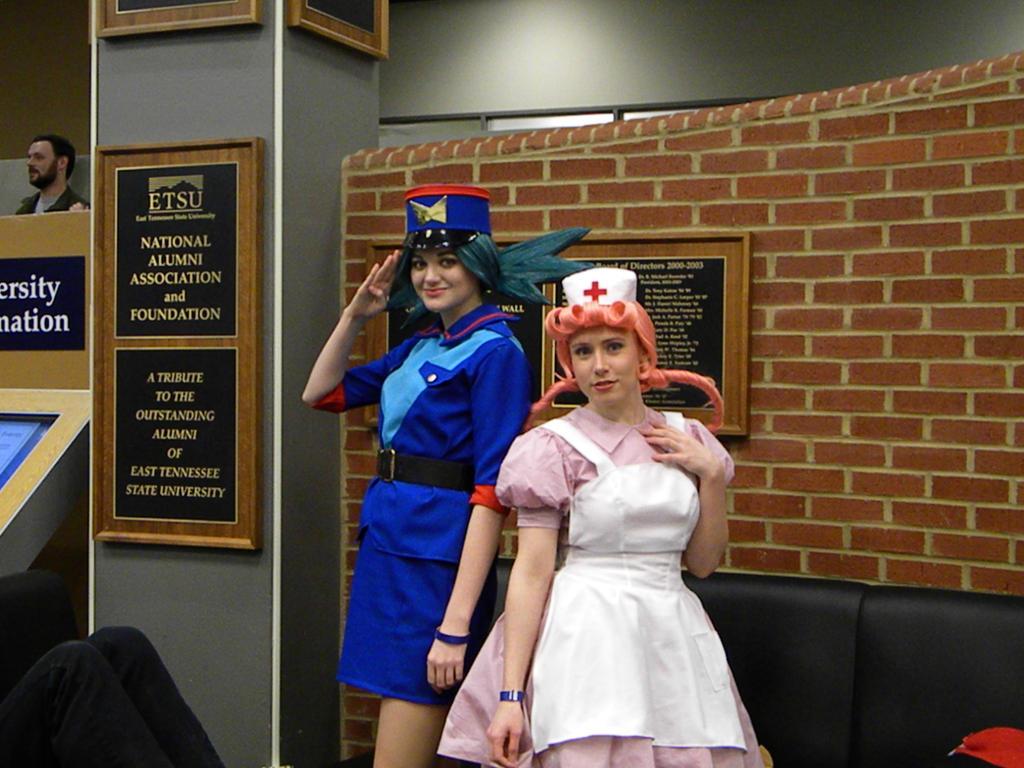 Nurse Joy and Officer Jenny Pokémon standee | Etsy