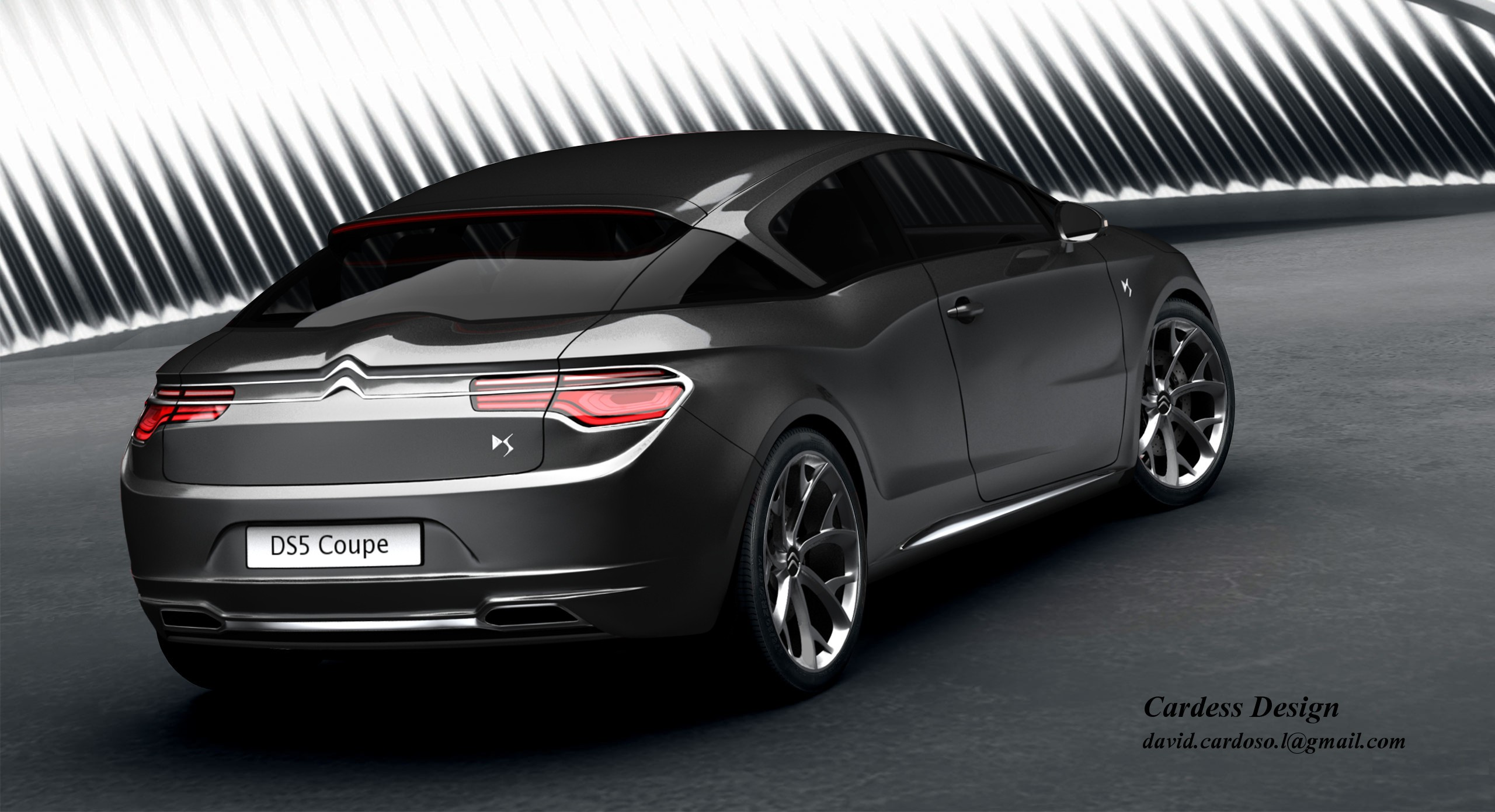 citroen ds5 coupe by cardess on deviantart. Black Bedroom Furniture Sets. Home Design Ideas