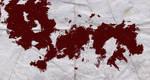 Splatter Art - Blood Red