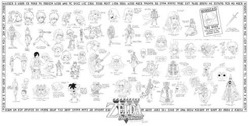The Legend of Zelda - 1,001 Knights idearrhea by DavyWagnarok