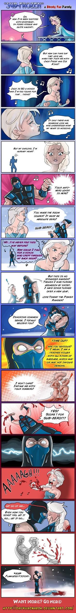 Sub-Frozen by DavyWagnarok
