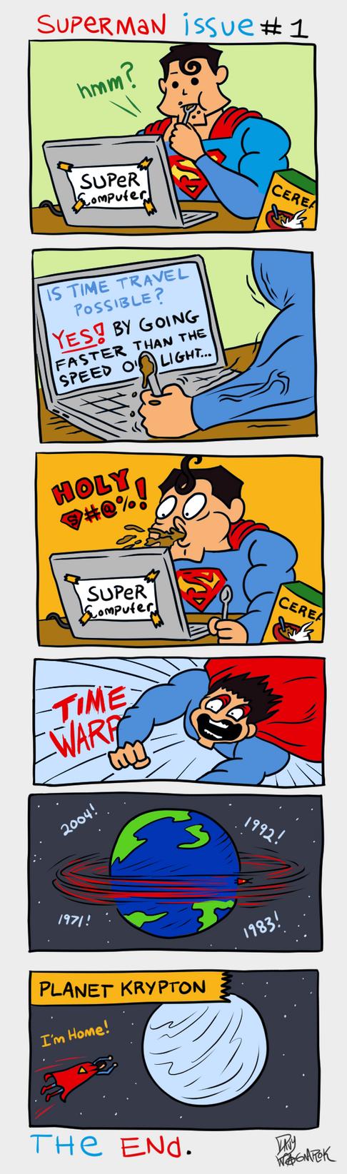 Superman Returns by DavyWagnarok