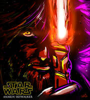 Anakin Skywalker by DavyWagnarok