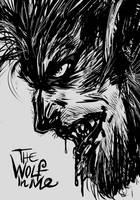 THE WOLF MAN by DavyWagnarok