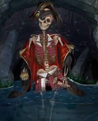 Cursed Skeleton Marine (Hololive)